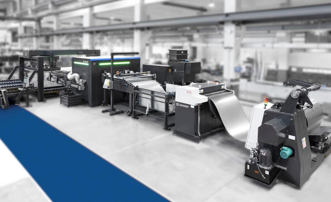 Il nuovo taglio laser da coil LB X-GAP di DANOBAT sbarca negli Stati Uniti